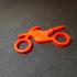 Motorbike Keychain image