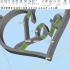 Love Keychain print image