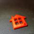 Home Shape Keychain image