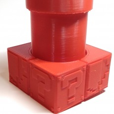 Picture of print of Mario Bros Planter and Base