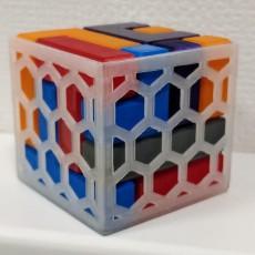 4x4 Puzzle Cube Holder