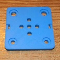 4 Hole Gantry Plate for 24mm Wheels 2020
