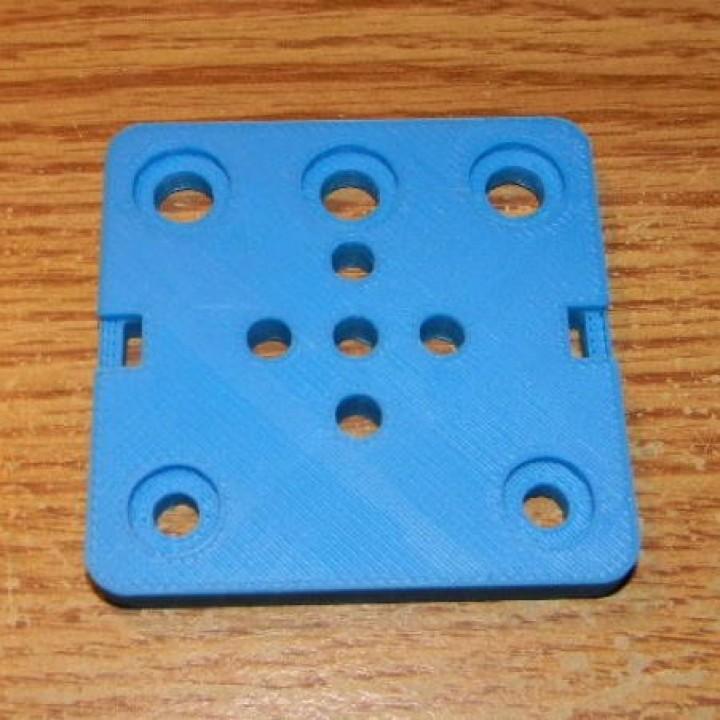5 Hole Gantry Plate for 24mm Wheels 2020