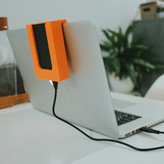 Picture of print of Hard drive holder