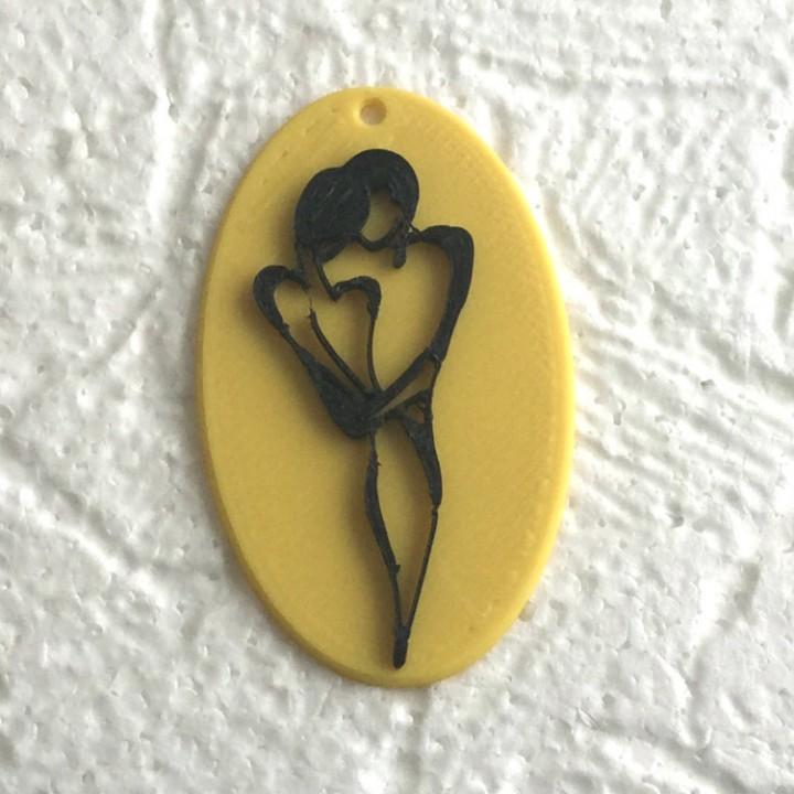 Valentine's Day pendants