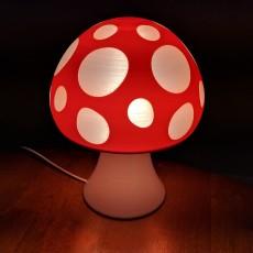 Glowing Mushroom Lamp
