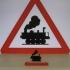 3D Traffic sign image