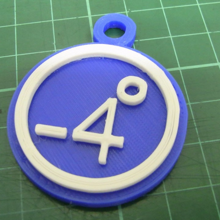86Duino -4 degrees key ring