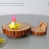 Travel Frog  Furniture and Candle  / 旅行青蛙 傢俱跟蠟燭 image