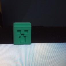 Tapa cam minecraft - webcam cover minecraft