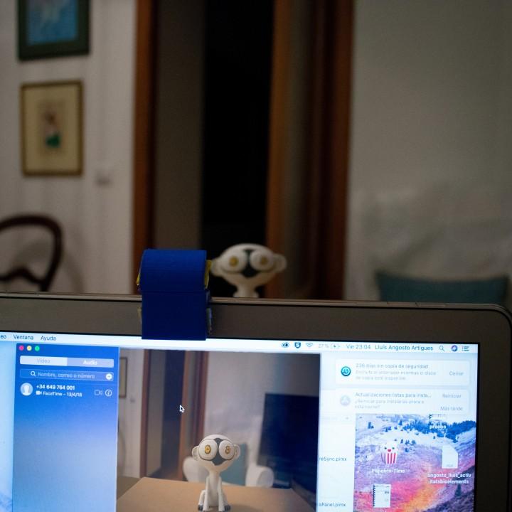 periscope for computer camera