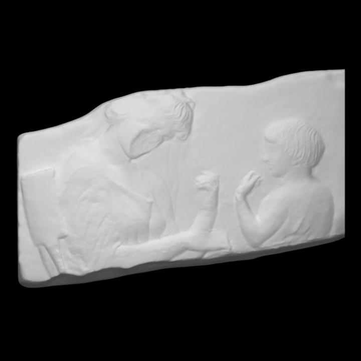 Grave Relief for a Mother and Daughter