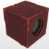 EARTH ENCLOSURE FOR PC SPEAKERS (SQUARE TYPE) image