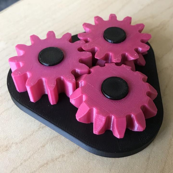 3 Gears Desk Toy