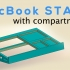 Laptop stand with compartments image