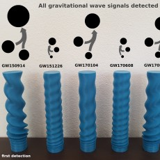 Gravitational Waves - The first 6 detections