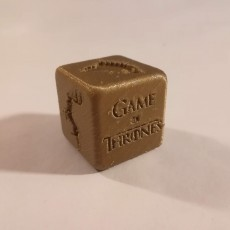 Picture of print of GOT Dice