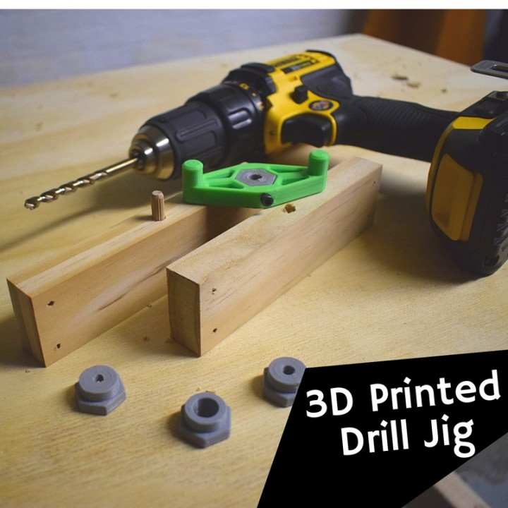 Drill and Doweling Jig