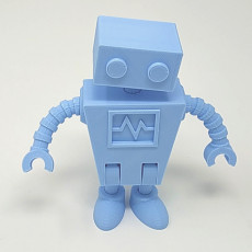 Picture of print of Robot Family Simple No Support