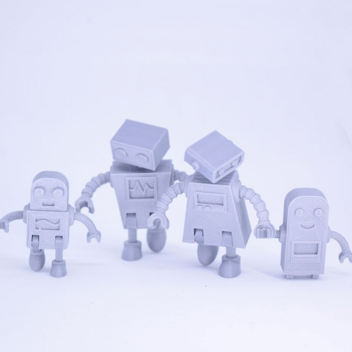 Robot Family Simple No Support