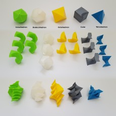 Twisted Platonic Solids