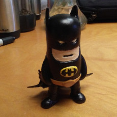Picture of print of Mini Batman
