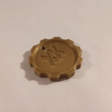 Picture of print of volkl maker coin