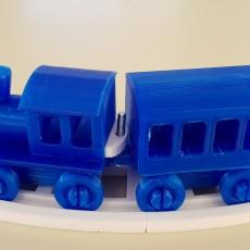 Wagon attachment for the Loco Motion