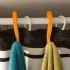 Simple Towel Hanger (using shower curtain rod) image