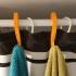 Simple Towel Hanger (using shower curtain rod) image