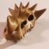 Dragon Skull print image