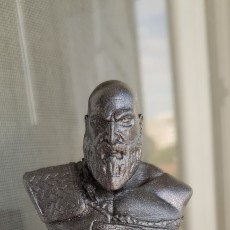 Picture of print of Kratos Bust - God of War 4 This print has been uploaded by Doru Muntean