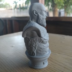 Picture of print of Kratos Bust - God of War 4 This print has been uploaded by Kossel Linear+