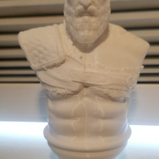 Picture of print of Kratos Bust - God of War 4 This print has been uploaded by Nick