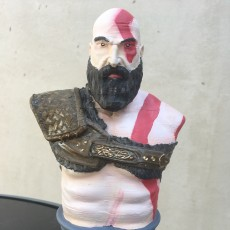 Picture of print of Kratos Bust - God of War 4 This print has been uploaded by Guillaume Rigaux