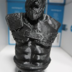 Picture of print of Kratos Bust - God of War 4