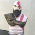 Kratos Bust - God of War 4 print image