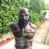 Kratos Bust - God of War 4 print image