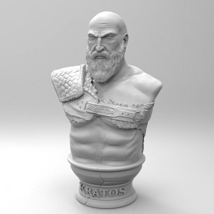 Kratos Bust - God of War 4
