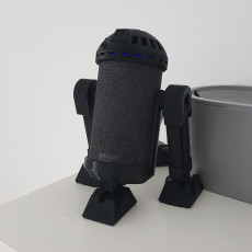 Picture of print of R2D2 v3.0 Amazon Echo Mount
