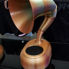 Picture of print of Alexa Gramophone This print has been uploaded by Stuart John