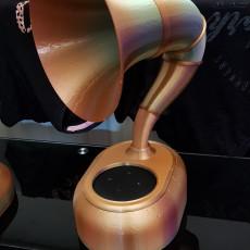Picture of print of Alexa Gramophone