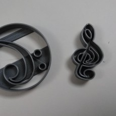 Music Clef's Cookie Cutters