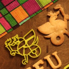 Kazan federal university logo cookie cutter