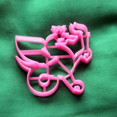 Picture of print of Kazan federal university logo cookie cutter