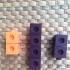 bloques para contar/ counting blocks for children image