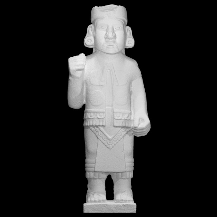 Sovereign Dressed as Xiuhtecuhtli