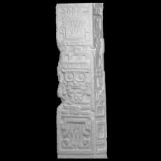 Stela Depicting Tlaloc