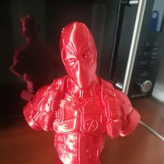 Picture of print of Deadpool Bust (Classic Edition)