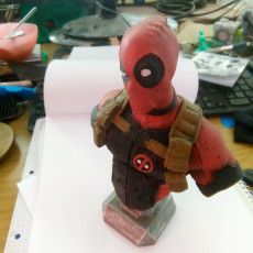 Picture of print of Deadpool Bust (Classic Edition) Questa stampa è stata caricata da Bent Ole Thomsen